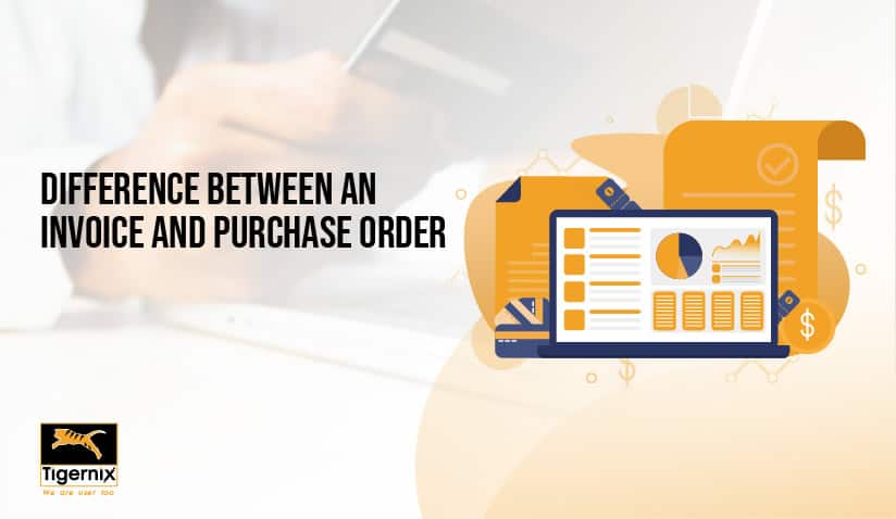 Learn the difference between an invoice and purchase order