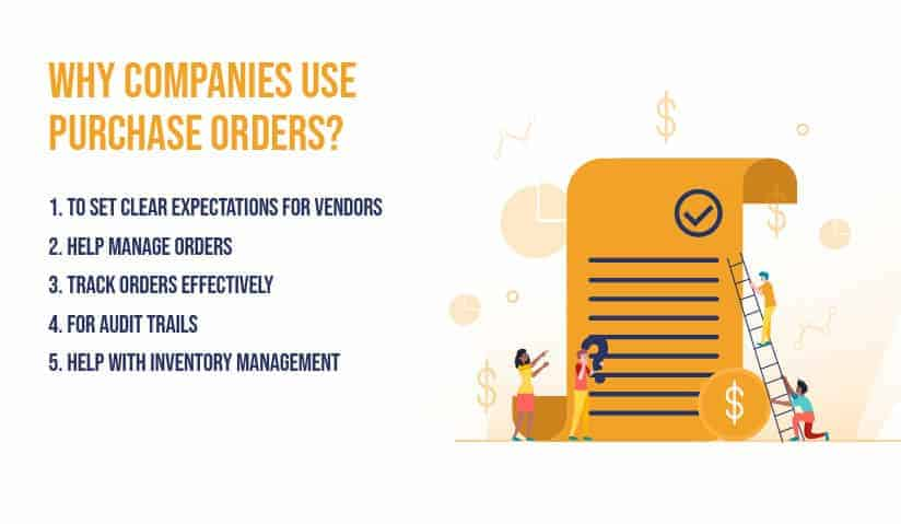 Why companies use purchase orders